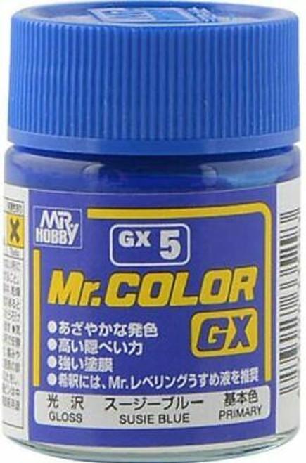 Mr. Hobby: Paint Jar - Mr. Color GX Susie Blue