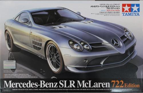 Tamiya: 1/24 Scale Model Kit Car - Mercedes-Benz McLaren SLR 722 Edition