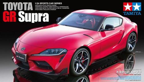 Tamiya: 1/24 Scale Model Kit Car - Toyota GR Supra