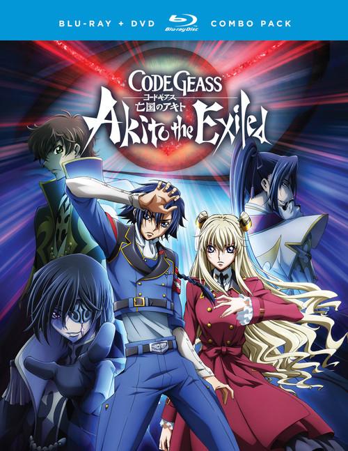 Code Geass Akito The Exiled: Blu-Ray/DVD Combo