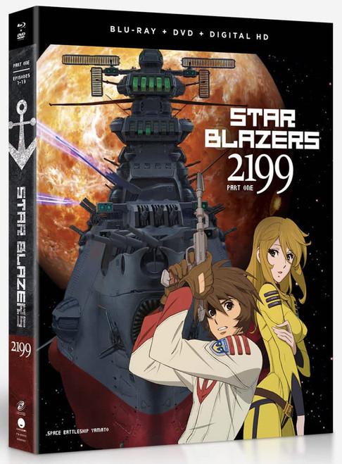 Star Blazers: Space Battleship Yamato 2199 Part 1 (Blu-Ray/DVD)
