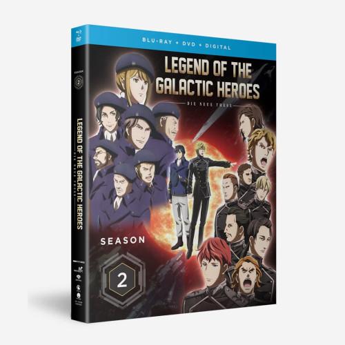 Legend Of The Galactic Heroes Die Neue These Season 2 Blu-Ray/DVD