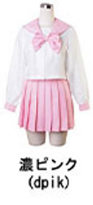 BodyLine: Costume - Long Sleeve Sailor Uniform (Deep Pink) (Large)