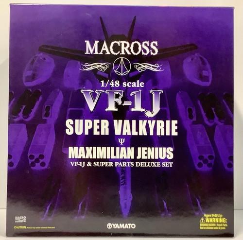 Macross: 1/48 Scale Figure - VF-1J Super Valkyrie Maximilian Jenius (105017148)