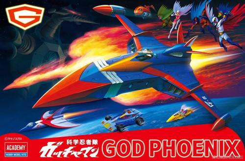 Gatchaman II: Non-Scale Plastic Model Kit: New God Phoenix