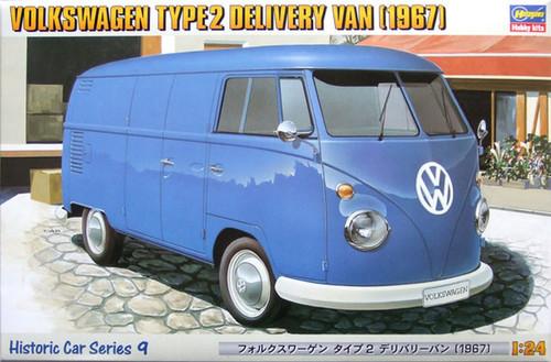 Hasegawa: 1/24 Car Model Kit - HC-9 Volkswagen Type 2 Delivery Van (1967)