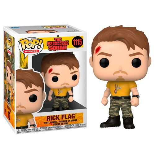 DC The Suicide Squad: POP! Movies - Rick Flag