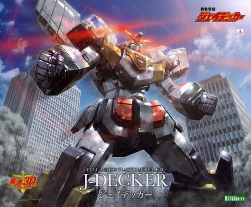 J-Decker: Full Action Plastic Model Kit - Brave Police J-Decker