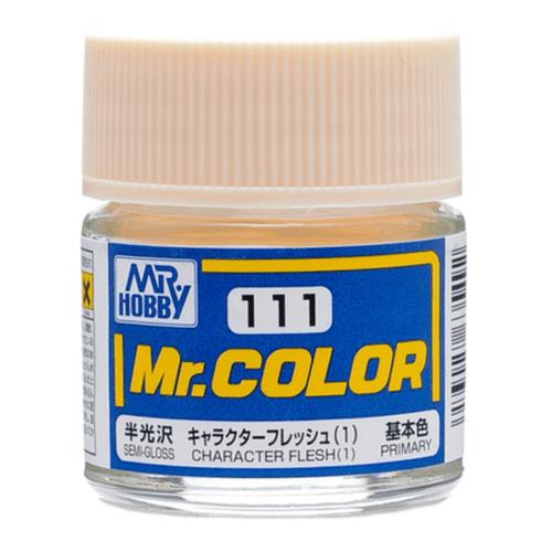 Mr. Hobby: Paint Jar - Mr. Color C111 Semi-Gloss Character Flesh 1