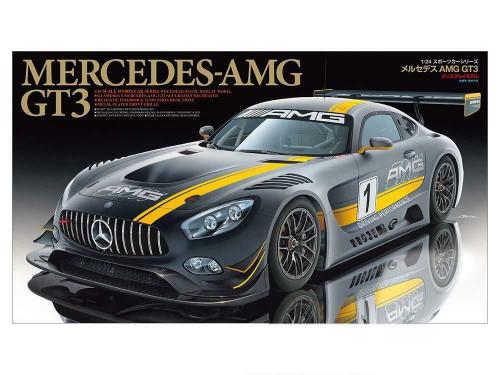 Tamiya: 1/24 Scale Plastic Model Kit - Mercedes-AMG GT3
