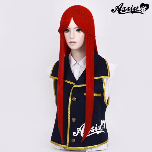 Assist: Pure Long Wig - Red 03 (Basic) (012607)
