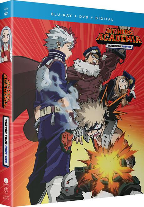 My Hero Academia Season 4 Part 2 Blu-Ray/DVD