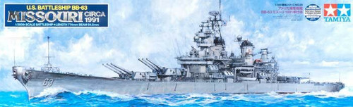Tamiya: 1/350 Scale Plastic Model Kit - US Battleship BB-63 Missouri (Circa 1999)