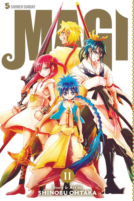 Magi The Labyrinth of Magic Vol. 11 (Manga)