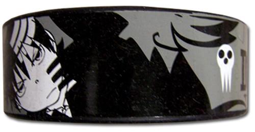 Soul Eater: Wristband - Death the Kid B&W