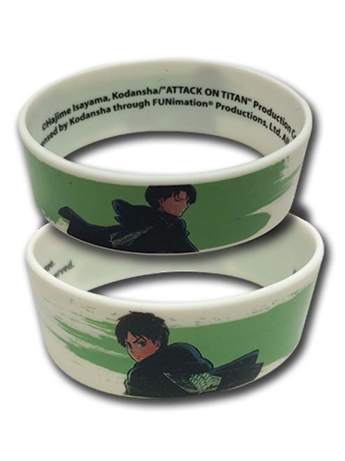 Attack on Titan: Wristband - Levi & Eren