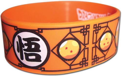Dragon Ball Z: Wristband - Goku Kanji & Dragon Balls