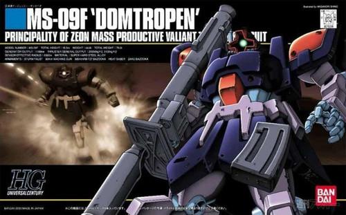 Mobile Suit Gundam 0083 Stardust Memory: HG 1/144 Model Kit - MS-09-F Dom Tropen