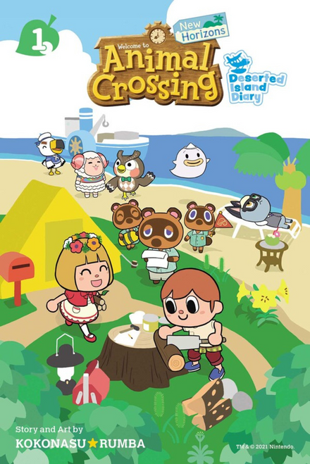 Animal Crossing New Horizons Vol. 1 (Manga)