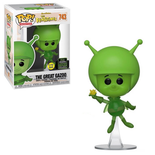 The Flintstones: POP! Animation - The Great Gazoo (Glows-In-The-Dark) [2020 Spring CON Limited Ed. EXCL] (105026437)