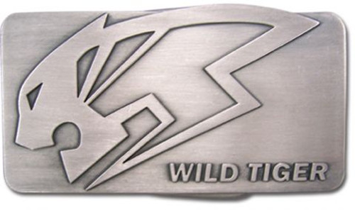 Tiger & Bunny: Belt Buckle - Wild Tiger Logo