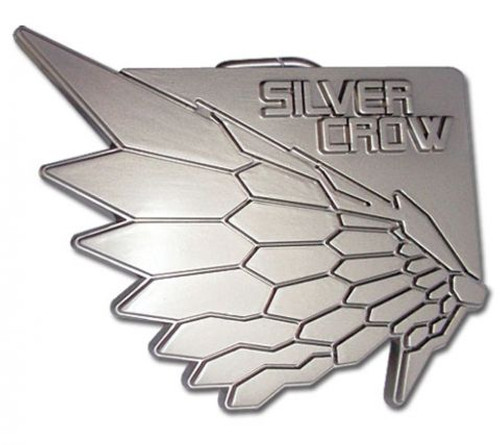 Accel World: Belt Buckle - Silver Crow