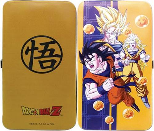 Dragon Ball Z: Wallet - Goku Changes Hinged
