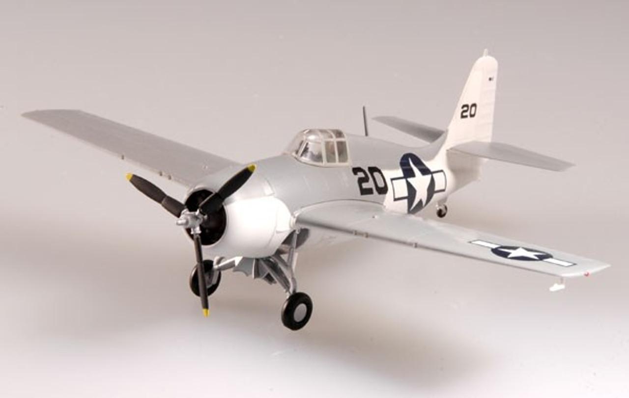 Easy Model F4F Wildcat VC-93 USS Petrof Bay 1945 Building Kit