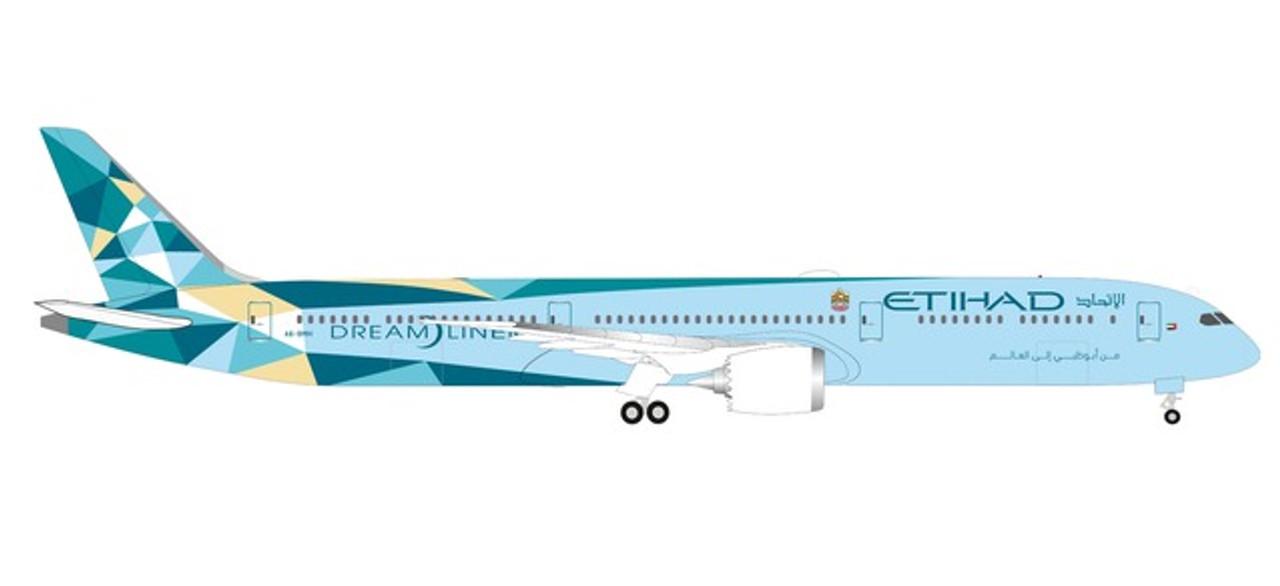 Neu Herpa 533119-1//500 Etihad Airways Boeing 787-10 Dreamliner