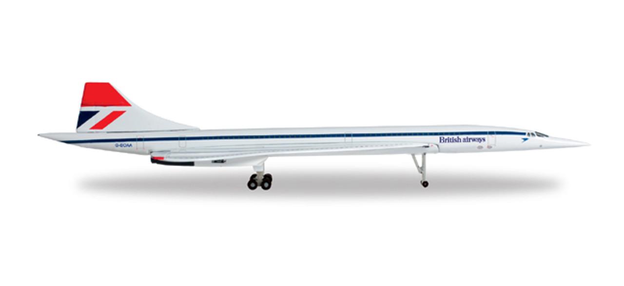 Herpa Wings 1:500 Concorde Air France nose down 532839