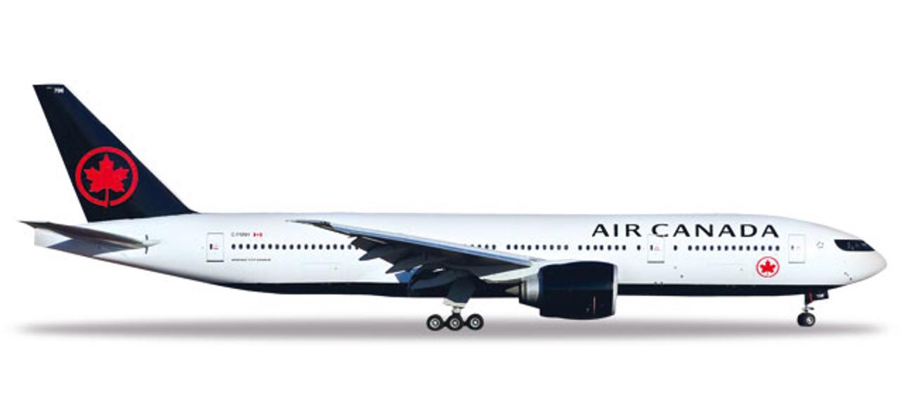 Herpa 531801-1//500 Air Canada Boeing 777-200LR Neu