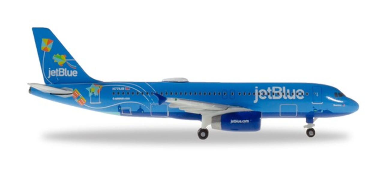 Balloons 533805 Herpa Wings 1:500 Airbus A 321 neo JetBlue