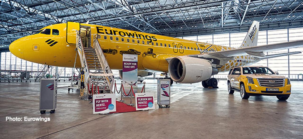 Neu Herpa 562669-1//400 Eurowings Airbus A320