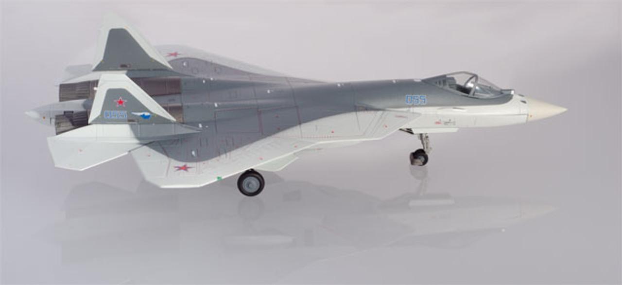 570732 1:200 Herpa Wings Sukhoi T-50 SU-57 prototype Pixel color scheme