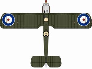 AD005 Oxford Diecast F.2B 1//72 Model RFC No.11 Sqn