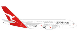 new 2018 colors Herpa 559423-1//200 Qantas Airbus A380 Neu VH-OQF