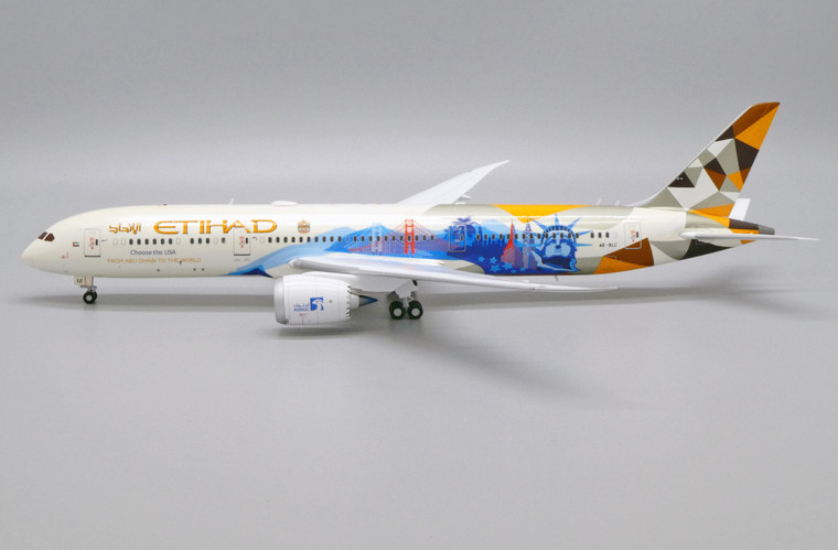 JC Wings Etihad Airways Boeing 787-9 Dreamliner (Choose the USA Livery) A6-BLC 1/200 XX2425