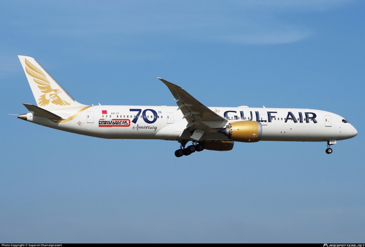 Phoenix Gulf Air Boeing 787-9 A9C-FF '70th' 1/400
