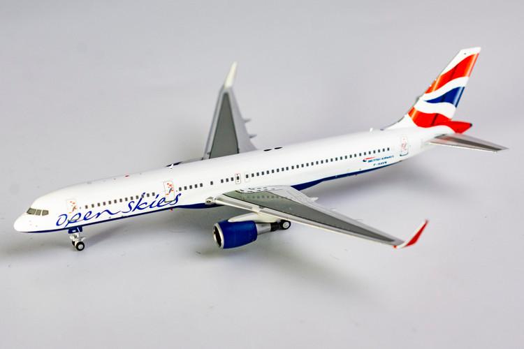 NG Models British Airways Boeing 757-200W F-HAVN Open Skies 1/400