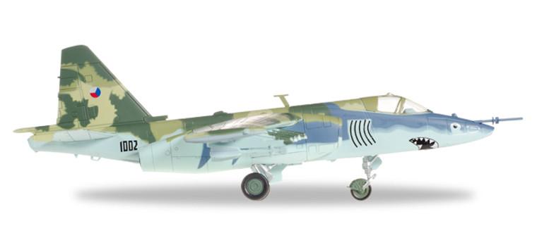 "Herpa Czech Air Force Sukhoi SU-25K ""Frogfoot"" − 32ND ZTL, Pardubice, Czech Republic 1996 1/72 82MLCZ7205"