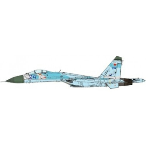 JC Wings Military SU-27 Flanker Russian Air Forces 582nd IAP Poland 1992 1/72 JCW72SU27005