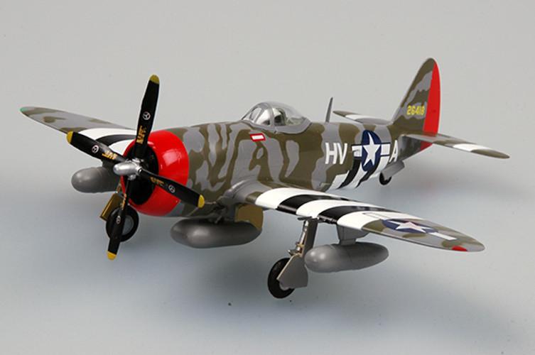 Easy Models P-47D Thunderbolt 61 FS 56 FG  1/72  - pack 2 EM37288
