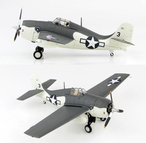 HobbyMaster F4F-4 Wildcat VC-12 USS Core 1944 - Ltd750 03/19 1/48 HM8903