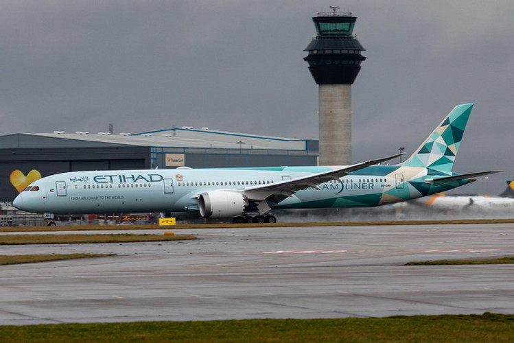 Phoenix Etihad Airways Boeing 787-10 A6-BMH 'Greenliner' 1/400