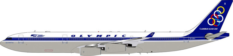 Inflight200 Airbus A340-313 Olympic SX-DFA (With Stand) 1/200 IF343OA0420