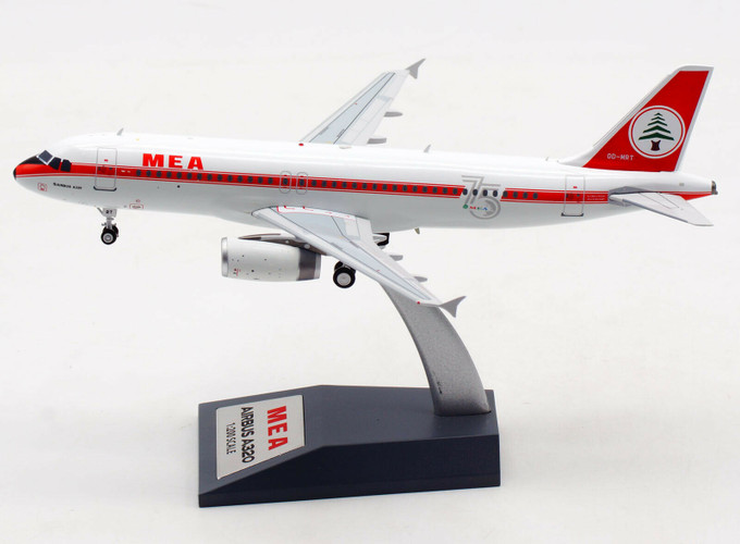 Inflight200 Airbus A320-232 MEA OD-MRT 75th Anniversary Scheme (With Stand) 1/200 IF320ME0720
