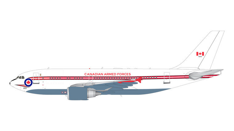 GeminiJets Canadian Armed Forces Airbus A310-100 15003 1/200 G2CAF862