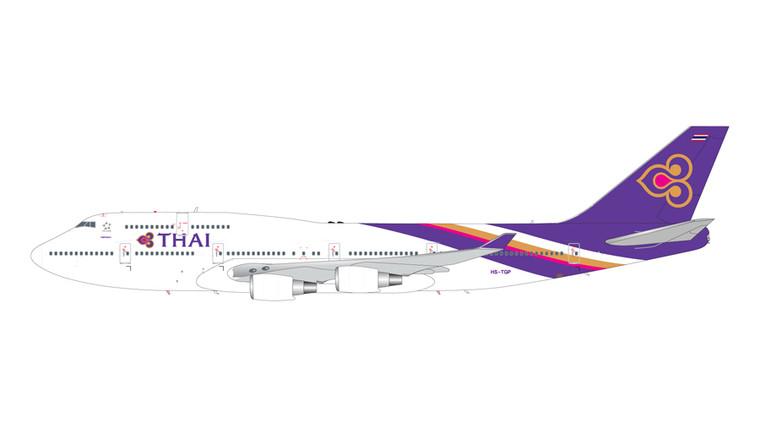 GeminiJets Thai Boeing 747-400 HS-TGP 1/200 G2THA866