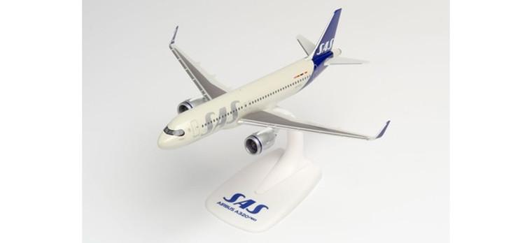 "Herpa SAS Scandinavian Airlines Airbus A320Neo – SE-ROX ""Roar Viking"" 1/200 612708"