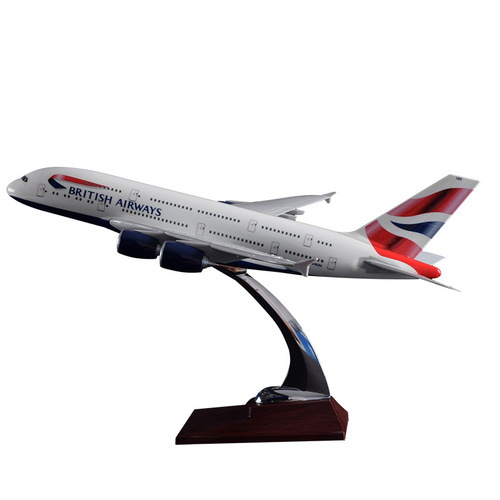 British Airways Airbus A380-800 Resin Aircraft Model (36 cm) G-XLEA 1/200